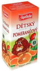 Apotheke Gyümölcstea Gyerekeknek Narancs 20 filter