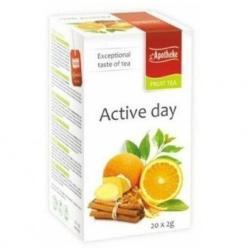 Apotheke Aktiv Nap Fűszeres Mate Tea 20 filter