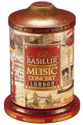 BASILUR Music Concert London-Fekete Tea Zenélő Fém Dobozban 100 g