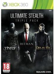 Square Enix Ultimate Stealth Triple Pack: Thief + Hitman Absolution + Deus Ex Human Revolution (Xbox 360)