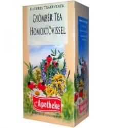 Apotheke Gyömbér-homoktövis Tea 20x2g