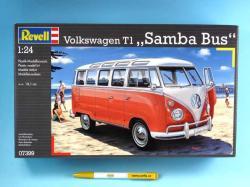 Revell Volkswagen T1 Samba Bus 1/24 07399
