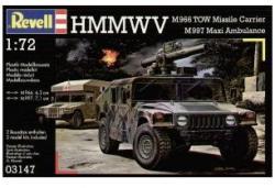 Revell HMMWV TOW Ambulance 1/72 3147