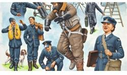 Revell Pilots & Ground Crew RAF WWII 1/48 2620
