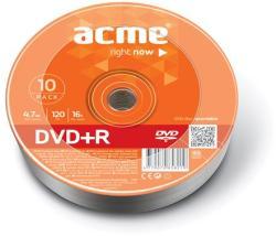 ACME DVD+R 4.7GB 16x - zsugor 10db DVDA+16Z10