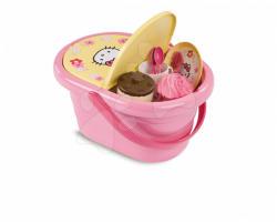 Smoby Hello Kitty Piknik kosár 24 db kiegészítővel (24351)