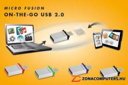 Integral Micro Fusion 64GB USB 2.0 INFD64GBMIC-OTG