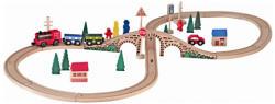 Woodyland 8-as fa vasútpálya szett 91121
