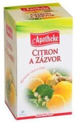 Apotheke Gyömbéres Citrom Tea 20 filter
