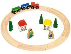 Bigjigs Toys Az első fa vonat szettem BJT010