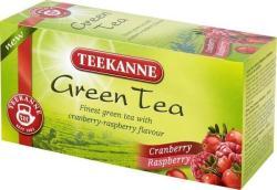 TEEKANNE Zöld Tea Tőzegáfonya És Málna 20 filter