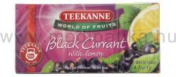TEEKANNE Fekete Tea Feketeribizli 20 filter