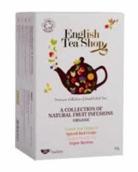 English Tea Shop Bio Gyümölcsös Tea Variáció 20 filter