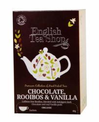 English Tea Shop Bio Csokoládé Rooibos&vanília Tea 20 filter