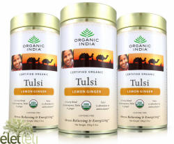 Organic India Bio Tulsi Ginger Lemon Tea