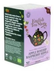 English Tea Shop Bio Alma Rózsaszirom Málna Tea 20 filter