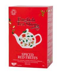 English Tea Shop Bio Fűszeres Piros Gyümölcs Tea 20 filter