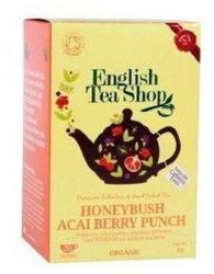 English Tea Shop Bio Mézbokor Acai Berry Punch Tea 20 filter