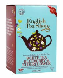 English Tea Shop Bio Fehér Tea Áfonyás És Bodzás 20 filter
