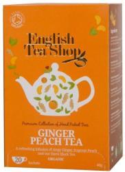 English Tea Shop Bio Gyömbéres Barack Tea 20 filter
