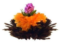 Creano Purpur Schein Virágzó Teagolyó Fekete Teából