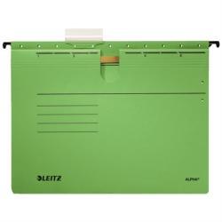Leitz Alpha Függőmappa gyorsfűzős A4 karton zöld 25 db/csomag (19840055)