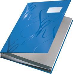 Leitz Design Aláírókönyv 18 részes A4 karton kék (57450035)