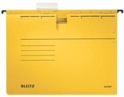 Leitz Alpha Függőmappa gyorsfűzős A4 sárga 25db/csomag (19840015)