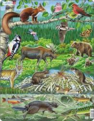 Larsen Északi erdők állatai 45 db-os FH15