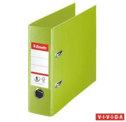 Esselte Standard Vivida Iratrendező 75 mm banki PP/PP élvédő sínnel zöld (468960)