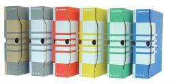 DONAU Archiváló doboz 80 mm A4 karton citromsárga (7660S)