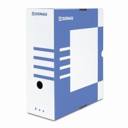 DONAU Archiváló doboz 120 mm A4 kék (7662K)