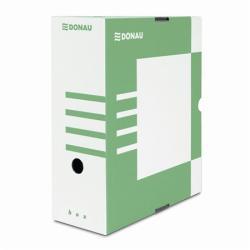 DONAU Archiváló doboz  120 mm A4 karton zöld (7662Z)