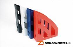 HELIT Iratpapucs 75 mm műanyag piros (INH23610251)