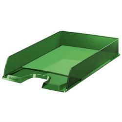 Esselte Europost Irattálca műanyag áttetsző zöld (623597)