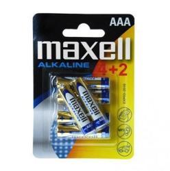 Maxell AAA Alkaline LR03 (6)