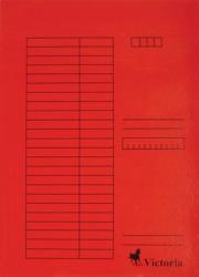 Victoria Gyorsfűző A4 karton piros (IDPGY07)