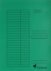 Victoria Gyorsfűző karton A4 zöld (IDPGY03)