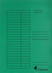 Victoria Pólyás dosszié A4 karton zöld (IDPI03)