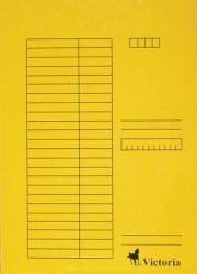 Victoria Pólyás dosszié A4 karton sárga (IDPI02)
