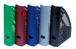 DONAU Iratpapucs 70 mm műanyag kék (7462K)