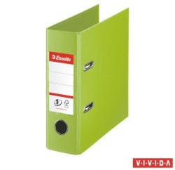 Esselte Standard Vivida Iratrendezõ 75 mm A5 PP/PP élvédõ sínnel zöld (468660)