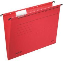 Leitz Alpha Standard Függõmappa karton A4 piros (19850025)
