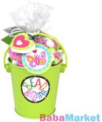 Bead Bazaar Gyöngyfűző készlet vödörben - zöld