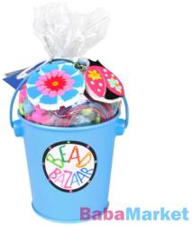 Bead Bazaar Gyöngyfűző készlet vödörben - kék