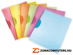 Leitz Color Clip Rainbow Gyorsfűzõ A4 PP narancssárga (417600451)