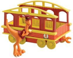 TOMY T-Rex Expressz Kalauz vonatkocsival