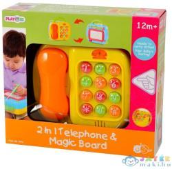 Playgo 2 az 1-ben telefon és varázstábla