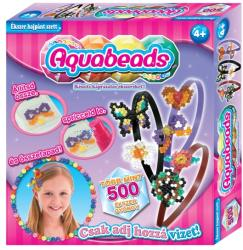 Flair Aqua Beads Ékszer gyöngyök - hajpánt szett