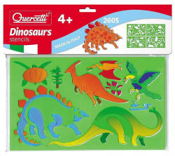 Quercetti Rajzsablonok - Dinoszauruszok
